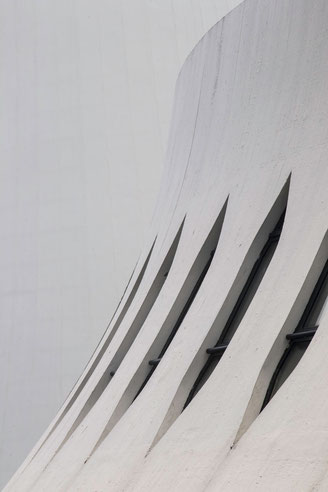 Le Havre, Niemeyer, Volcan, Kunst, Architektur.