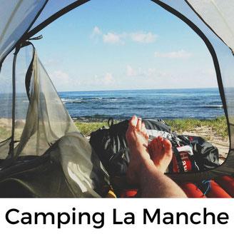Camping mit Hund in der Manche/Normandie