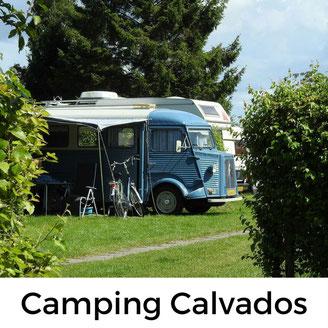 Camping mit Hund im Calvados/Normandie