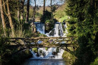 Le Vast, Wasserfall, Normandie, Cotentin, Val de Saire