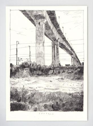 "VENDU - SOLD /// ""PRESENCE"" / graphite /21x29,7cm"