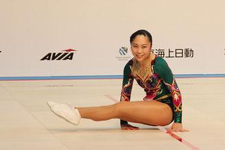 シニア女子シングル準優勝の佐柄夏葉