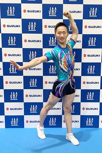 史上初の8連覇を達成した斉藤瑞己