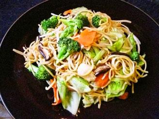 Yakisoba con verduras