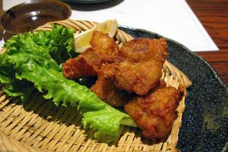Tori no karrage (pollo frito japonés)