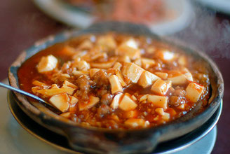 Mobo don (Tofu especiado con arroz)
