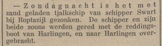 Nieuwsblad van Friesland 1-11- 1911