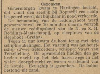 Nieuwsblad van het Noorden 31-10-1911