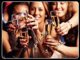 chicas celebrando una despedida de soltera en san fernando