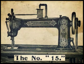 dating wheeler and wilson sewing machines