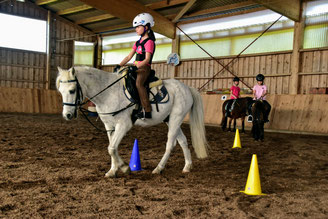 Reiterspiele (Mounted Games)