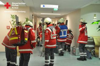 Einsatzübung Klinikum Amberg