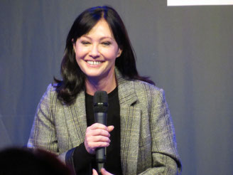 Shannen Doherty in the Netherlands