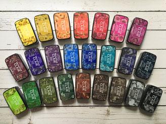 24 couleurs encres VersaFine Clair pour tampons