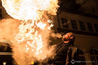 Feuerschlucker & Gaukler beim Gothardusfest 2017