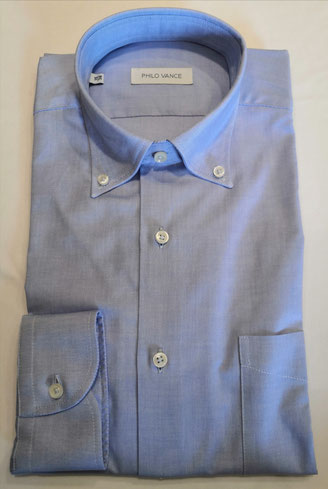 Puro cotone Oxford nido d'ape button down