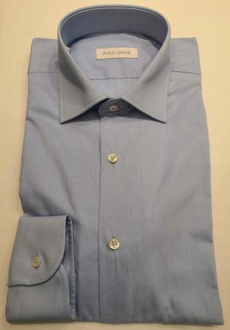 Azzorre - Puro cotone liscio (popeline) - Vari colori, con e senza botton down, vestibilità normale o slim fit