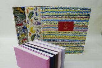 Grands albums plein papier, petits albums pleine toile - Bourgogne Reliure