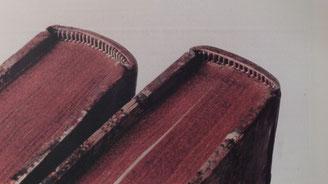 Réfection des coiffes - Bourgogne Reliure