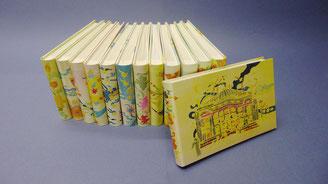 Albums couvrure soie peinte à la main  - Peintures sur soie : Claude BARGAS - Bourgogne Reliure