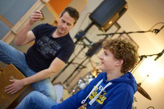 Ringo Studios Unterricht mit Cajon