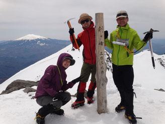 乗鞍剣ヶ峰3026m 後は行けなかった御嶽