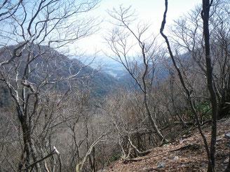 三重県側は雪なし。