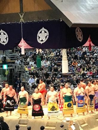 九州場所・・・去年巡業で来ていただいたお相撲さんを応援に行きました。番付表いつも送って頂き感謝です。
