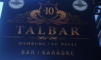 TALBAR in der Talstraße 10 in Hamburg auf St. Pauli