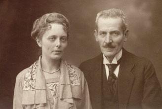 Herta Freiin Grote, Freifrau von Brusselle, und Theo Brügelmann, ca. 1922 (Staatsarchiv Ludwigsburg)