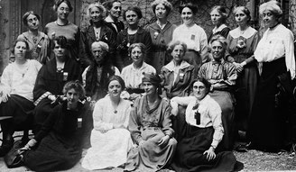 Women's International League for Peace and Freedom (WILPF) Britische Delegation, Zürich 1919