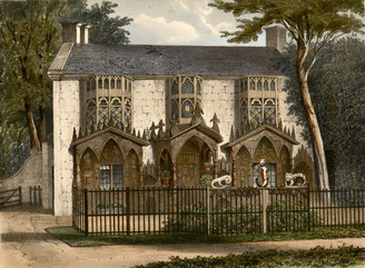 Plas Newydd, Llangollen 1894