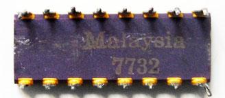 Intel C2117-4 ES Back View