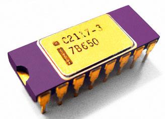 Intel C2117-3 Side View