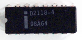 Intel D2118-4 Front View
