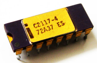 Intel C2117-4 ES Side View