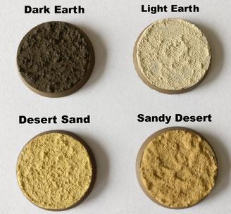 MarTiny Creations - 4 basiskleuren zand