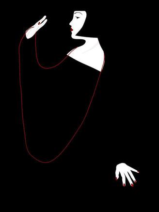 """Oeuvre digitale contemporaine """"Chanson d'Amour"""" (2014)"""