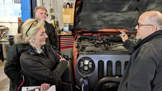 Jeep Wrangler Workshops
