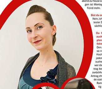 Mary von Just Maryed im Interview der Schwulissimo