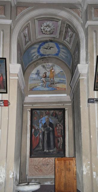 Calacatoggio - Chapelle des fonts baptismaux