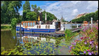 (F/L/D) Canal de la Marne au Rhin, Moselle, Mosel, Saar Canal de la Sarre 29.07. - 21.08.2021