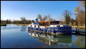 (F) Canal de la Marne au Rhin 02.04. - 05.04.2021
