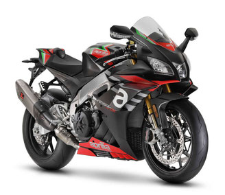 Motorrad mieten z.B. die  Aprilia RSV 4 RF - Modell 2017