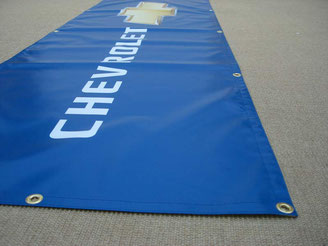 Ansicht eines geösten Banners