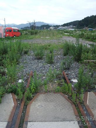 断たれた鉄路