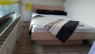 Wasserbett 140 * 200 cm mit Ahorn Rahmen