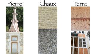 Travail avec matériaux naturels : pierre, chaux, terre