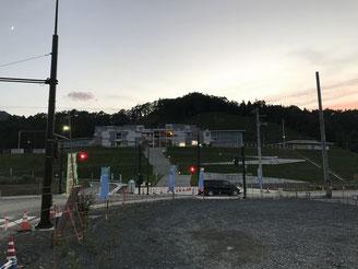 釜石港の新しい防波堤
