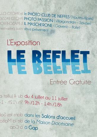 """Mostra itinerante con altri due fotoclub francesi, """"Le reflet - Il Riflesso"""" 2016"""